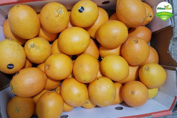 Thùng cam vàng Úc